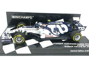 1:43 scale Minichamps Alphatauri Honda AT01 F1 Model - P Gasly Italian GP Winner