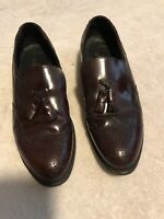 Stafford Dress Shoes Men's Comfort Plus Slip On Leather USA Made 9 D/B Cordovan