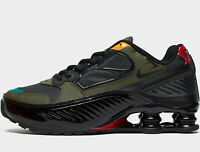 Nike Shox Enigma 9000 Women's ® (UK Sizes: 3 / 4.5 / 6.5) Black / Anthracite NEW