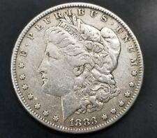 1883 Morgan Silver Dollar **XF Condition** - 90% Silver [AK9766]