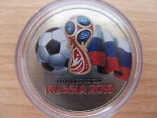 RUSSIA 2018 25 rubles FIFA World Cup COLOR 3 UNC #B5