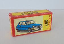 Repro Box Majorette Nr.257 Renault R 5