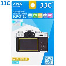 JJC 2PCS LCD Guard Film Camera Screen Protector for Fujiflim X-T10 X-T20 X-T100
