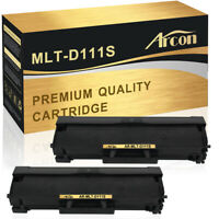 2 PACK Compatible for Samsung MLT-D111S 111S Toner Xpress M2020w M2070fw M2070w