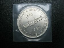 South Africa 1910~1960 ~ Silver ~ Crown ~ Five Shillings Coin ~ Sealed Pocket