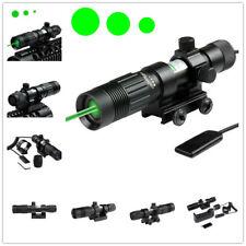 Us Advanced Optics Green Laser Rifle Flashlight Designator Hunting Illuminator
