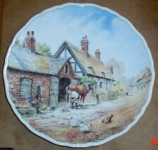 Royal Doulton Collectors Plate PRIDE AND PATIENCE From VILLAGE LIFE Farrier