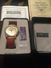 American Coin Watch Collection Brittania Standing Eagle.