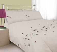 Lenzuola e biancheria da letto rosa ricamato