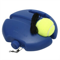 Tennis Training Tool Exercise Ball Self-study Rebound Ball Tennis Trainer T ZSFS