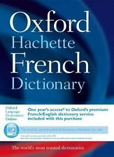 Oxford-Hachette French Dictionary by Oxford Dictionaries 2007~ CD included