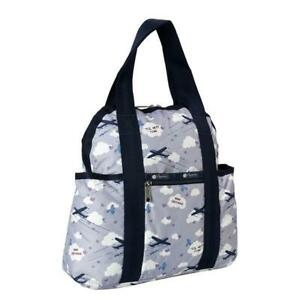LeSportsac Classic Collection Double Trouble Backpack in Send Off Lavender NWT