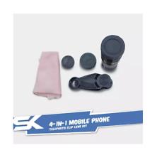 SALE! 4-in-1 Mobile Phone Telephoto Clip Lens Kit