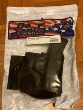 DeSantis Gunhide Die Hard Ankle Rig Right Hand Holster S&W M&P Shield 9/40