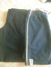 2 PAIRS OF BOYS SHORTS AGE 7 & 8 BOTH NAVY BLUE