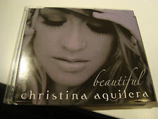 RAR MAXI CD. CHRISTINA AGUILERA. BEAUTIFUL. 3 TRACKS