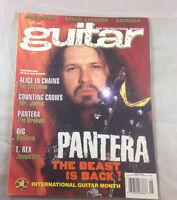 Pantera Black Sabbath Santana T. Rex May 1994    Guitar  Magazine