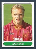 PANINI EUROPEAN FOOTBALL STARS 1997- #086-ROMA & SWEDEN-JONAS THERN