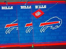NFL Buffalo Bills Gift Bags (3 bags) MEDIUM