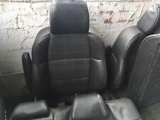 Peugeot 307 Black Half Leather Full Interior 2004