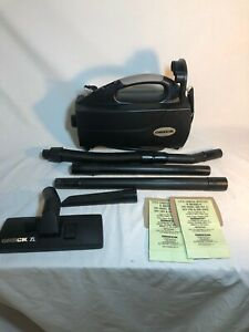ORECK XL TYPE 3 BB1100DB HANDHELD HOUSEKEEPER COMPACT CANISTER VACUUM