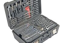New 301 Piece Professional Mechanic's Tool Kit Set (SAE and Metric) with Case