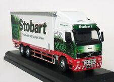 Oxford 1/76 Scale - Volvo Eddie Stobart LED Teletubby Diecast Model Truck