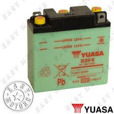 BATTERIA YUASA B39-6 PIAGGIO VESPA GL 150