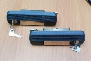Fiat 127 L doors handles set, maniglia porta