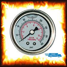 Liquid Fuel Pressure Gauge Injection Adjustable Regulator 160 PSI 11 BAR 1/8 NPT