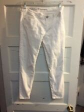 Women's Vera Wang white jeans size 2 short  skinny  kw