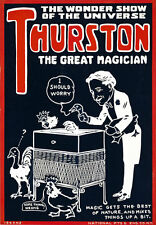 M20 Vintage Thurston Magic Theatre Poster A1 A2 A3