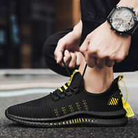 Mens Athletic Sneakers Sports Running Fitness Casual Shoes Breathable Trainers