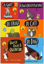 Kes Gray Collection 6 Books Set Pack Oi Frog, Dog, Quick Quack Quentin, Oi Goat