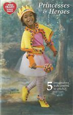 Princesses and Heros Kids Costumes Crochet Instruction Patterns NEW
