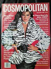 ***Cosmopolitan MAGAZINE December 1985 Brooke Shields  COVER BY SCAVULLO