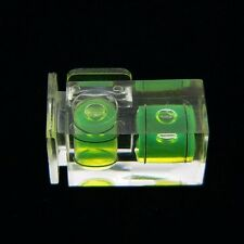 Hot Shoe Two Axis Double Bubble Spirit Level For Canon Nikon Camera DSLR