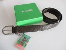 cinta cintura belt uomo marrone elegante Seminole Made in Italy vero cuoio