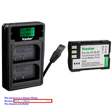 Kastar Battery LZD2 Charger for Olympus BLM-1 BLM-01 Camedia C-5060 Wide Zoom