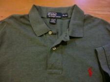 Polo Ralph Lauren Classic Pique Polo Shirt, EUC - Mens XL - Heather Green
