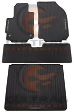 2018 Chevrolet Equinox GM Front & Rear & Cargo All Weather Floor Mats Black