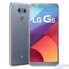 LG  G6 H870DS 4G LTE Platinum 64GB Unlocked Mobile Phone
