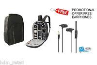 LARGE Black Camera DSLR SLR Backpack Rucksack Bag Case For Nikon Sony Canon