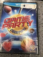 Game Party Champions (Nintendo Wii U) Mini Golf, Hoop Shoot, Pre Owned.