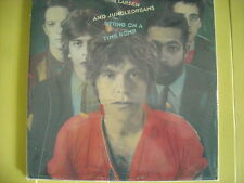 LP KIM LARSEN AND JUNGLE DREAMS SITTING ON A TIME BOMB NUOVO 1982