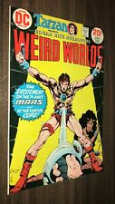 WEIRD WORLDS #7 -- October 1973 -- John Carter Warlord -- VF/NM Or Better