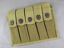 (3)Reproduction US WWII Thompson Five Slot Pouch