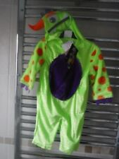 Baby Monster Outfit Età 6-9 DRESS UP NUOVO