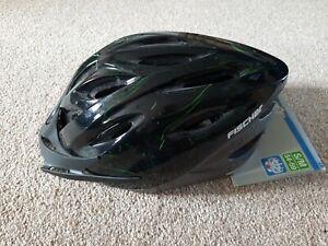 FISCHER Unisex Bike Cycle Helmet w. Rear Light S/M NEW TAGS