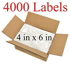 4000 4x6 Fanfold Direct Thermal Shipping Labels For Zebra Amp Rollo Printers Usa